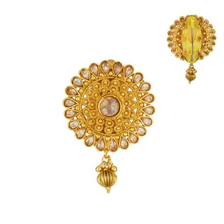 13850 Antique Classic Brooch with gold plating
