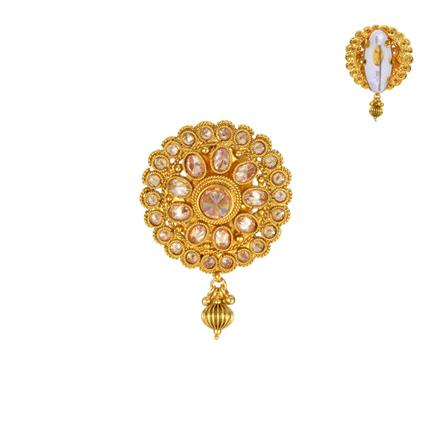 13855 Antique Classic Brooch with gold plating