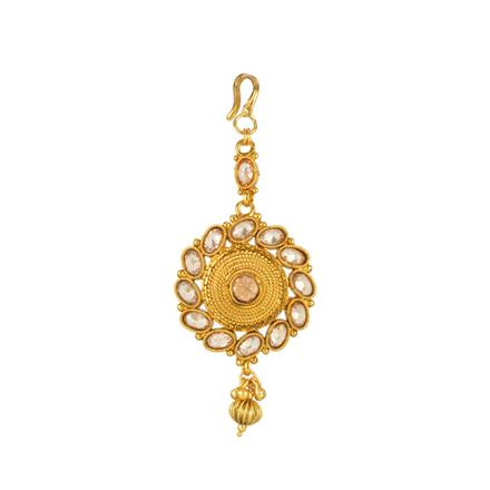 13857 Antique Classic Tikka with gold plating