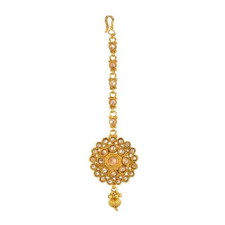 13861 Antique Classic Tikka with gold plating