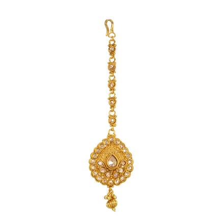 13865 Antique Classic Tikka with gold plating