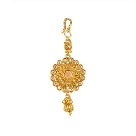 13867 Antique Classic Tikka with gold plating