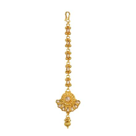 13868 Antique Classic Tikka with gold plating