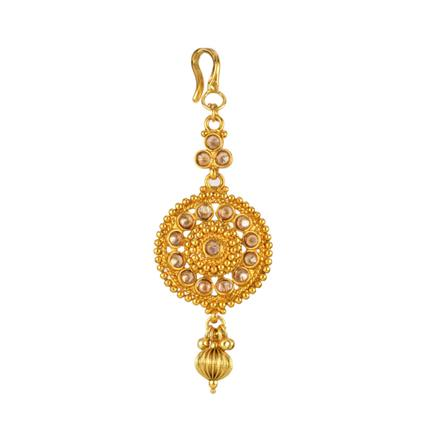 13884 Antique Classic Tikka with gold plating