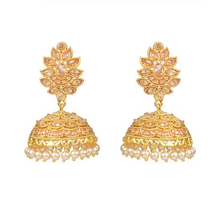 13910 Antique Jhumki with gold plating
