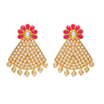 14180 Antique Classic Earring with gold plating