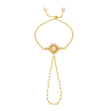 14276 Antique Delicate Hath Pan with gold plating