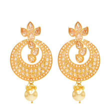 14285 Antique Classic Earring with gold plating