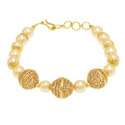 14419 Antique Classic Bracelet with gold plating