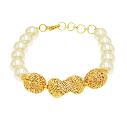 14420 Antique Classic Bracelet with gold plating