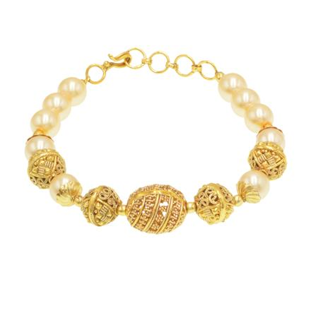 14421 Antique Classic Bracelet with gold plating