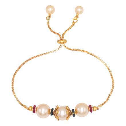14538 Antique Adjustable Bracelet with gold plating
