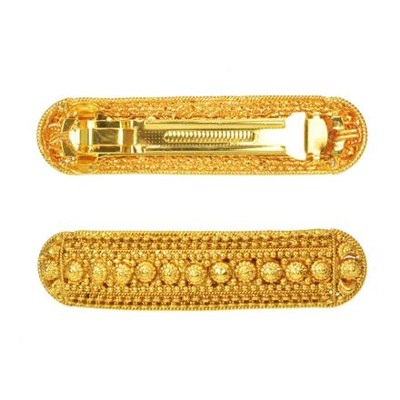 14584 Antique Classic Hair Clip with gold plating