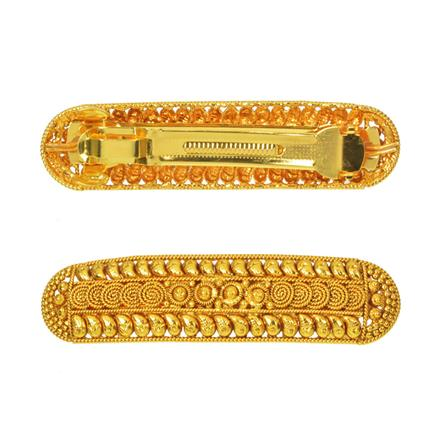 14587 Antique Classic Hair Clip with gold plating