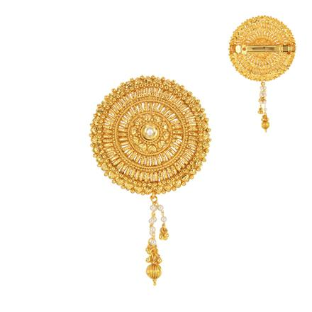 14588 Antique Classic Hair Clip with gold plating