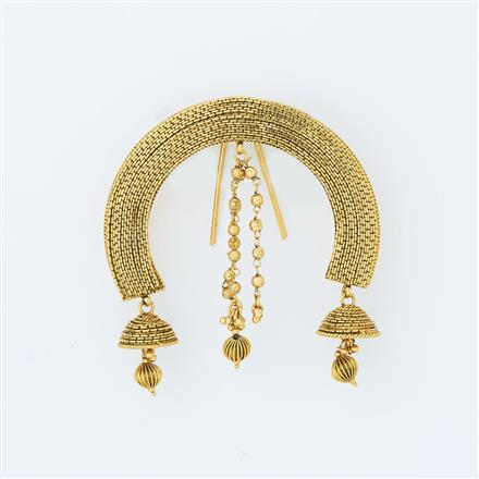 14608 Antique Classic Hair Brooch with gold plating