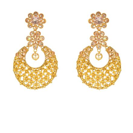 14651 Antique Classic Earring with gold plating