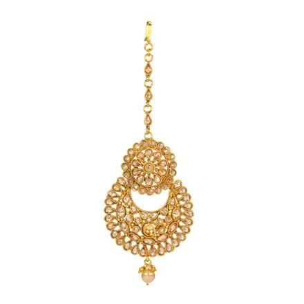 14662 Antique Chand Tikka with gold plating