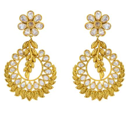 14829 Antique Classic Earring with gold plating