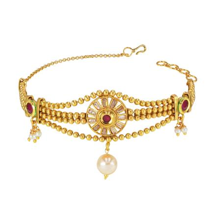 14831 Antique Classic Baju Band with gold plating