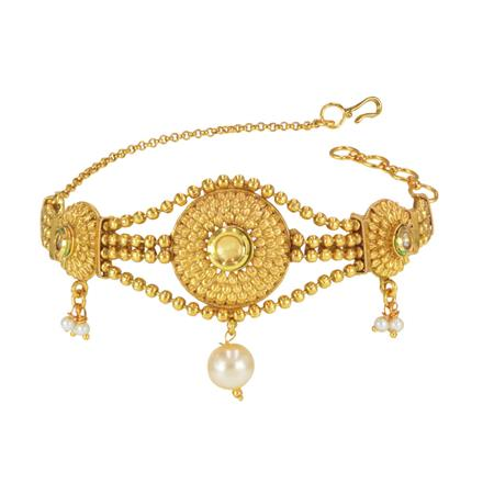 14832 Antique Classic Baju Band with gold plating