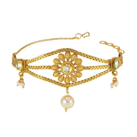 14833 Antique Classic Baju Band with gold plating