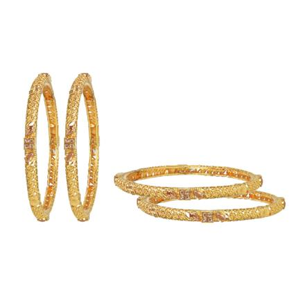 14845 Antique Classic Bangles with gold plating