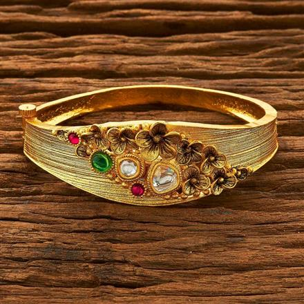 14851 Antique Classic Kada with gold plating