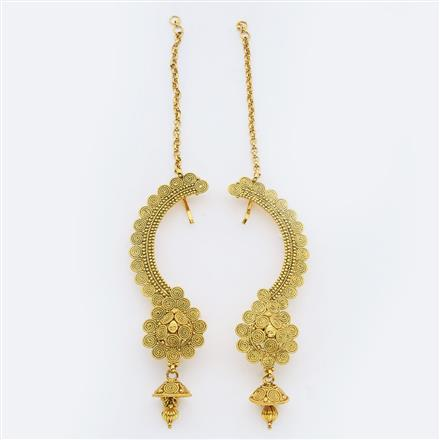 14897 Antique Earcuff with gold plating