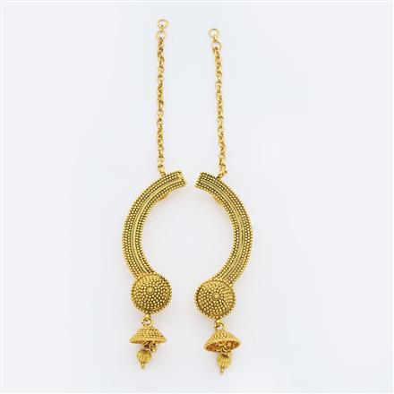14898 Antique Earcuff with gold plating