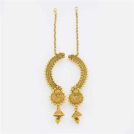 14899 Antique Earcuff with gold plating