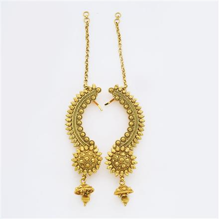 14900 Antique Earcuff with gold plating