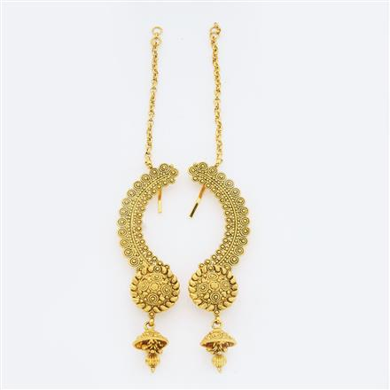 14901 Antique Earcuff with gold plating