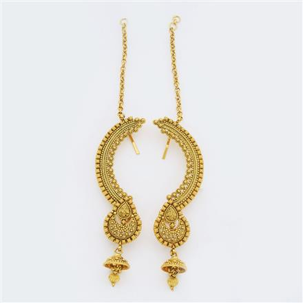 14902 Antique Earcuff with gold plating