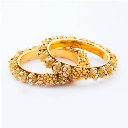 14903 Antique Classic Bangles with gold plating