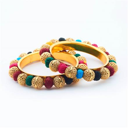 14904 Antique Classic Bangles with gold plating