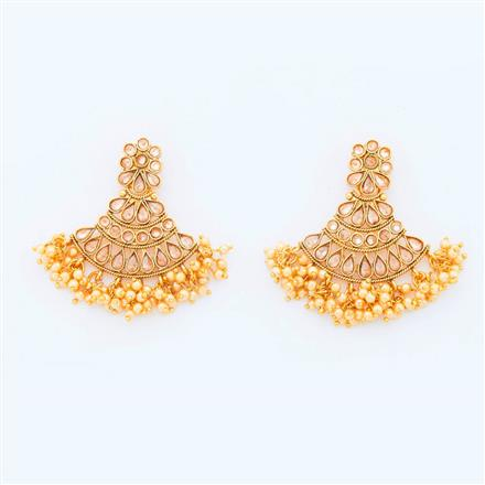 14943 Antique Classic Earring with gold plating