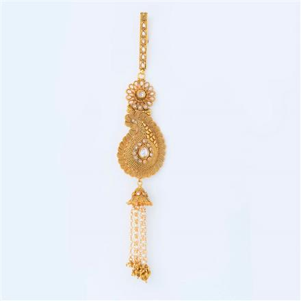 14990 Antique Classic Jhuda with gold plating