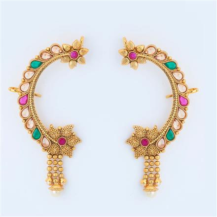 14994 Antique Earcuff with gold plating