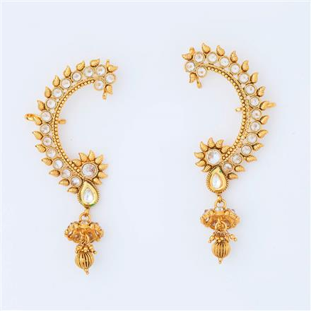 14995 Antique Earcuff with gold plating