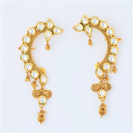 14996 Antique Earcuff with gold plating
