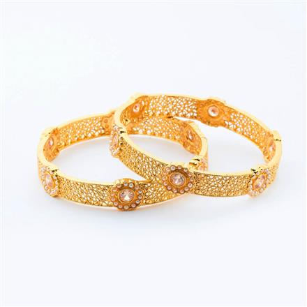 14999 Antique Classic Bangles with gold plating