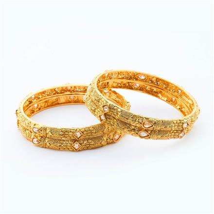 15001 Antique Classic Bangles with gold plating