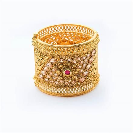 15006 Antique Openable Bangles with gold plating