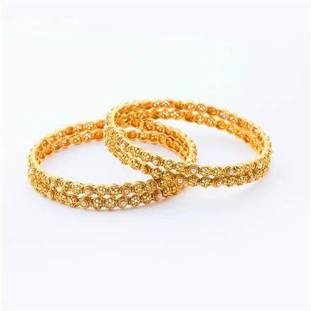 15008 Antique Classic Bangles with gold plating