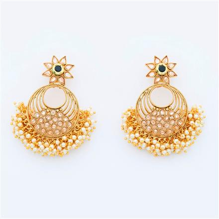 15084 Antique Classic Earring with gold plating