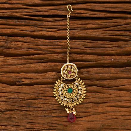 15220 Antique Chand Bore with gold plating