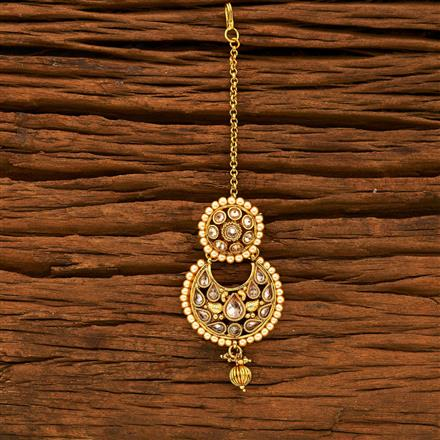 15221 Antique Chand Bore with gold plating