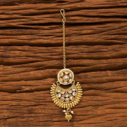 15223 Antique Chand Bore with gold plating