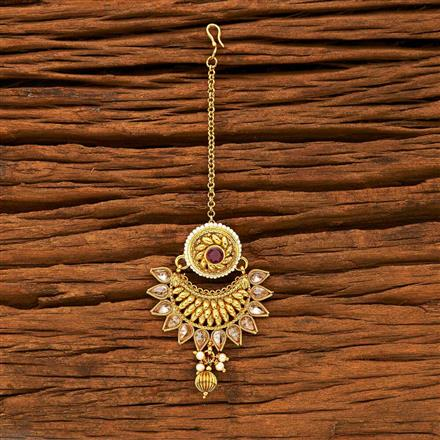 15224 Antique Chand Bore with gold plating